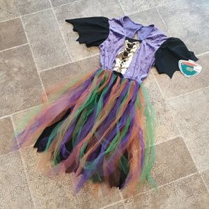 NWT Target brand girl's size 8-10 witch costume